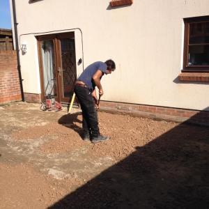 excavation levelling