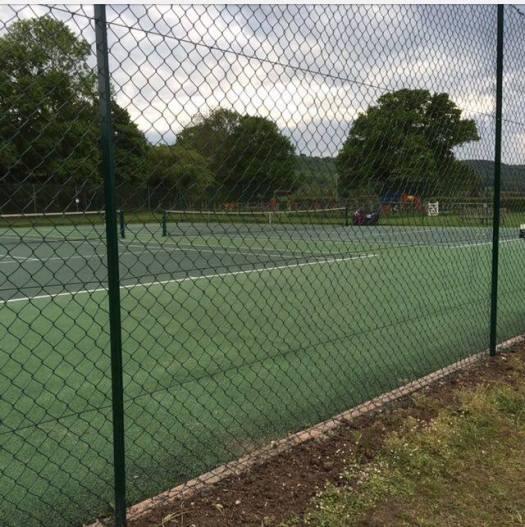 tennis fencing