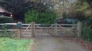 gate rehanging