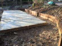 shed base