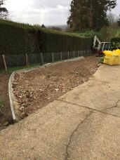 widening of driveway area